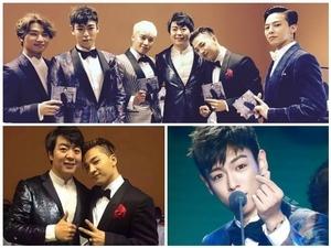 BIGBANG領四獎甜蜜示愛 想拜朗朗為師