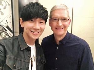 林俊傑交友超狂 邀蘋果庫克演奏新歌