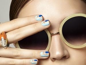 指尖妝點海洋藍 提前換上度假好心情