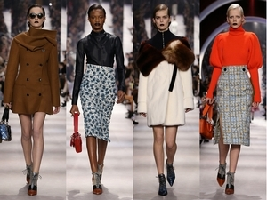 2016秋冬巴黎時裝周:Dior  優雅的傳承