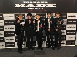 BIGBANG紀念電影將首播 TOP宣告明年入伍