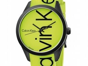 Calvin Klein 把時光變彩色