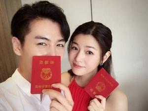 陳妍希懷孕3個月 今日領證結婚喜訊頻傳