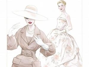一睹高級訂製服產業的繪本式小說《Dior:穿迪奧的女孩》
