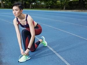 女孩好享瘦  劉欣瑜的慢跑經