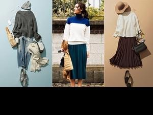 短版毛衣成了必備單品!4款日系小清新搭配法,舒服的讓人一看就想抱住妳