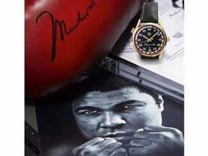 時尚天后追憶拳王阿里 紀念腕錶藏拳擊魂