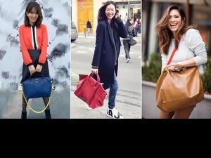 可愛的冬季時髦擔當!Longchamp小羊皮包再進化印上啾咪笑臉超幽默