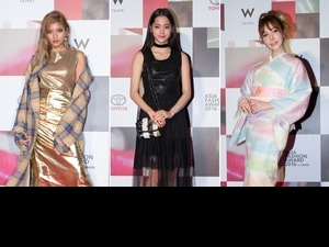 AFA亞洲最強時尚大賞 歐陽娜娜紅毯PK.日本當紅混血女模蘿拉ROLA