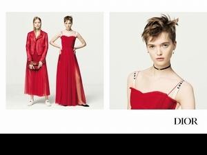 Dior新姿有驚喜!雙胞胎超模上陣演繹2017春夏形象廣告
