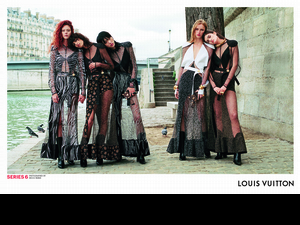 Louis Vuitton 2017 春夏廣告大片發佈!《SERIES 6》漫遊塞納河畔的巴黎綺想