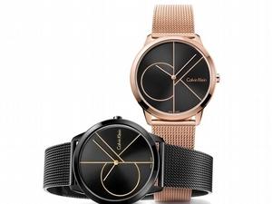 越簡單越搶眼!Calvin Klein watches + jewelry極簡時髦哲學