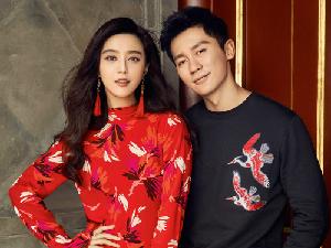 H&M紅紅火火過新年!范冰冰、李晨北京老宅曬恩愛