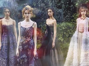 2017春夏巴黎高訂大秀 和Dior在一起的時光全都很耀眼