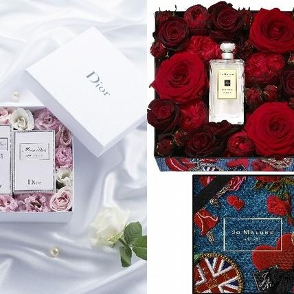 香水結合美美花禮94浪漫 情人節選Jo Malone London、Dior就對了