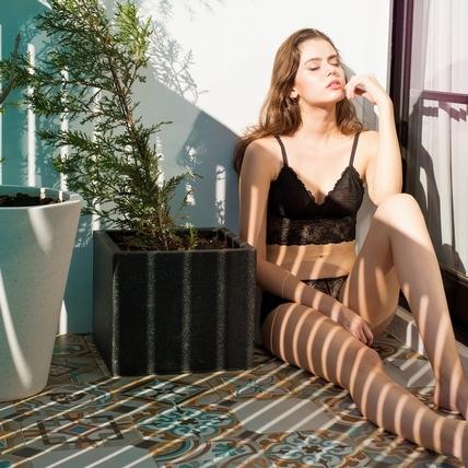 歐美超火Bralette蕾絲內衣4招心機穿法,學起來性感立刻提升100倍!