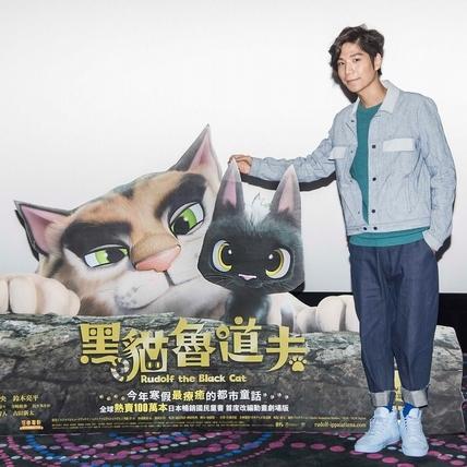 陪粉絲看貓迷動畫 潘裕文大聊愛犬趣事逗笑
