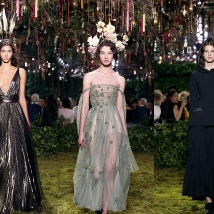 Dior的迷宮花園  2017春夏高級訂製服時裝周報導