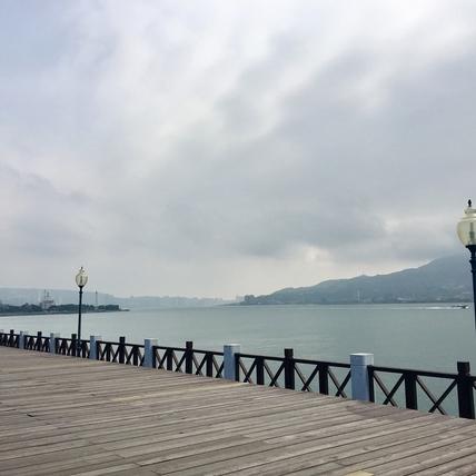 江鵝【俗女日常】請問有到漁人碼頭嗎?