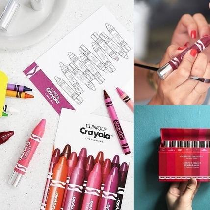 「姐畫的不是唇膏,是童心」 倩碧Crayola限定版唇筆玩出唇彩趣味
