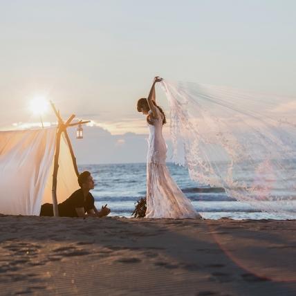 自然感婚紗照正夯 讓妳想保留一輩子的美好結婚照