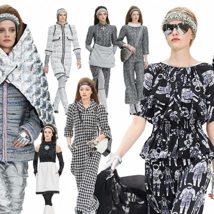 【2017秋冬巴黎女裝周】Chanel  香奈兒太空中心