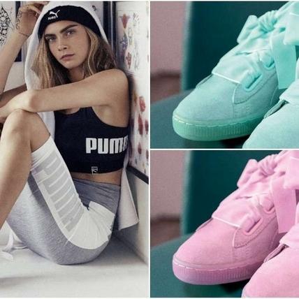 PUMA Suede Heart馬卡龍新色粉嫩來台  限量70雙搶先開賣!!