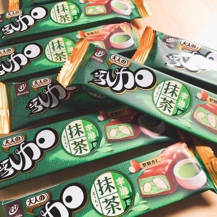 國民零食「77乳加巧克力」出新招!全新限定大人系口味:宇治抹茶乳加,絕對撩到少女心!