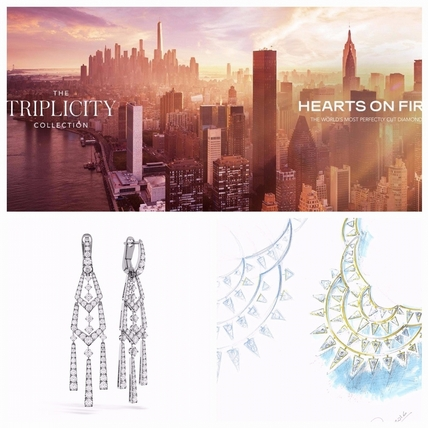 HEARTS ON FIRE用珠寶改寫紐約摩天樓