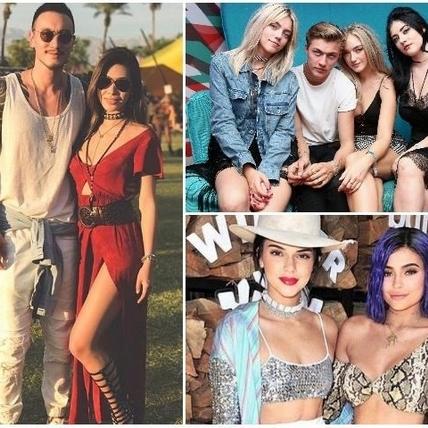 音樂祭果然是丹寧和波希米亞風的天下!蔡詩芸、超模Kendall Jenner最強穿搭範本一次看!