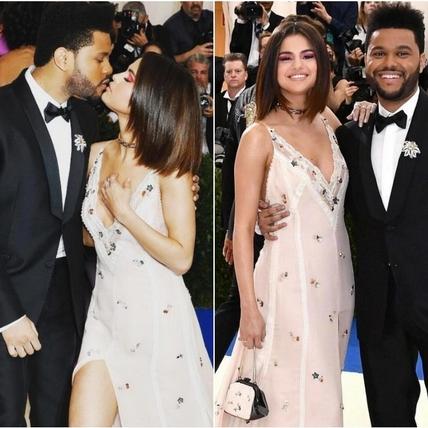 到處都是粉紅泡泡!賽琳娜 Selena Gomez和男友威肯現身 2017Met Gala  甜蜜互動閃瞎眾人!