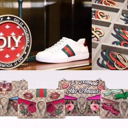 激發你的設計魂 Gucci推個性化訂製DIY服務