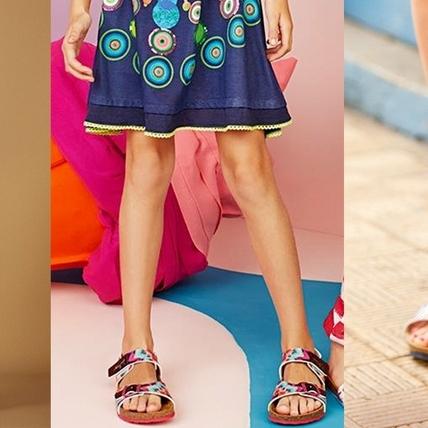 穿上它忍不住想翩翩起舞!夏日海灘穿著絕對無法缺少Desigual印花造型鞋