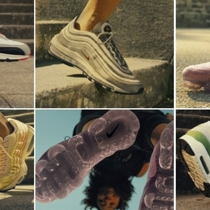 Nike Air VaporMax強力釋出新色!把天空的變幻色彩盡收腳底