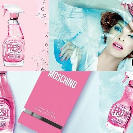 清潔劑還是香水!?MOSCHINO 再推「小粉紅清潔劑淡香水」維持幽默搞怪創意~鎖定粉紅玫瑰控的妳!