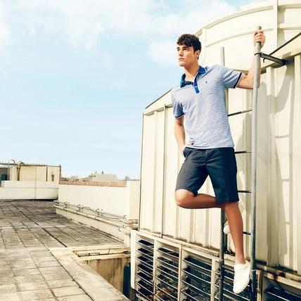 男友總是穿t-shirt嗎?就用襯衫/Polo衫打造時尚感男人的率性生活!