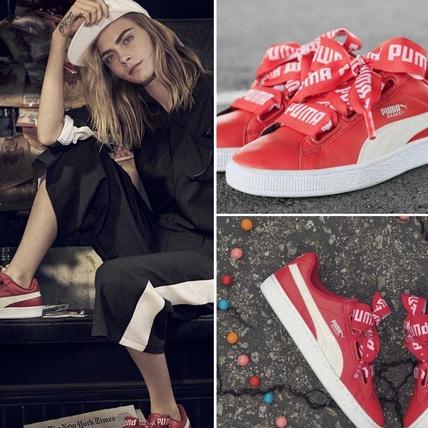 全球熱搜的寬蝴蝶結鞋強推夏日限定色!PUMA Basket Heart 「熱帶紅」搶先看