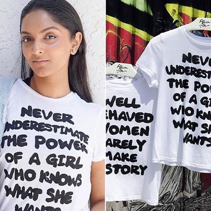 叛逆女孩才能創造歷史!alice + olivia字母T提倡Girl Power 聲援女性做自己