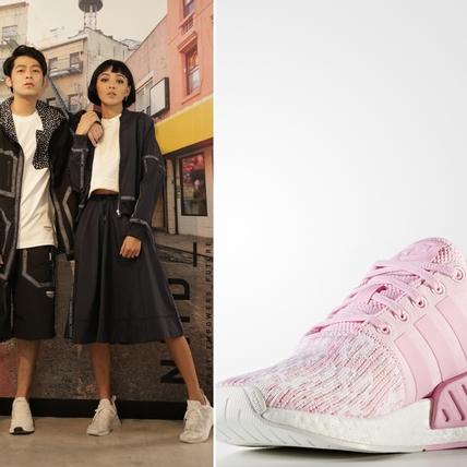 經典潮鞋再中少女心!愛迪達NMD 升級編織鞋面 粉嫩配色讓人再度想敗