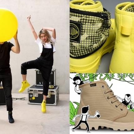 鞋款也有正能量!Palladium70周年讓你踏著微笑前進