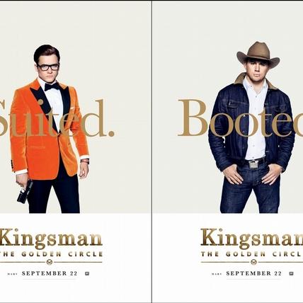 《金牌特務:機密對決》8款海報出爐    紳士風PK牛仔味