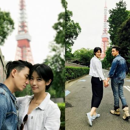 杜琵CP攻佔櫻花妹 東京鐵塔放閃甜爆