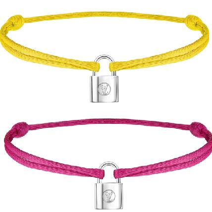 讓我們承諾保護你!LV攜手聯合國兒童基金會,再推彩色LOGO鎖頭銀手環