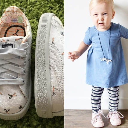PUMA與tinycottons童裝再度攜手!首發南美高原點點厚底鞋萌指數破表