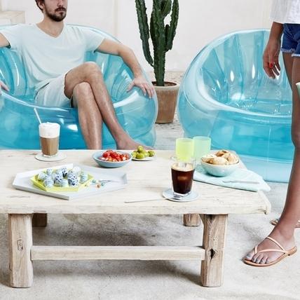 夏日冰咖啡特調,結合在地的甜蜜果茶風