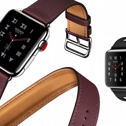 搶先看!第三代愛馬仕 Apple Watch 勃根地紅錶帶美得太優雅