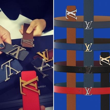 就要你選擇困難!LV客製化皮帶,皮革、釦環排列組合後共240種搭法