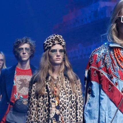 2018 春夏系列 Gucci時尚現象學 一段執著於創造的優雅抗衡