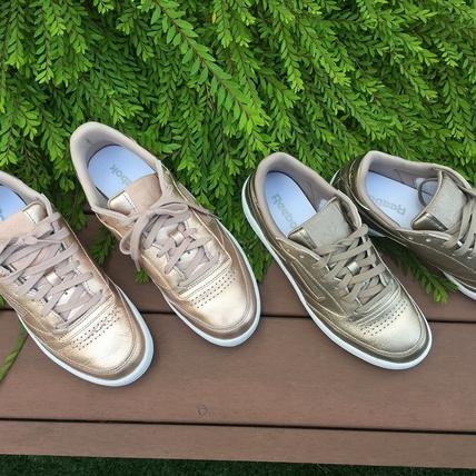 編輯實穿給你看!Reebok CLASSIC Club C鞋款  時髦金屬色美到逆天!
