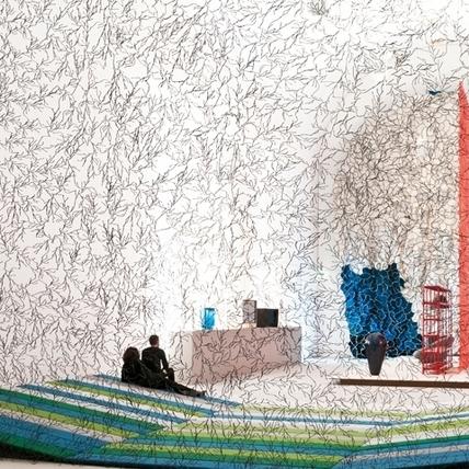 男兒捲珠簾--Ronan & Erwan Bouroullec 《Momentané》回顧展